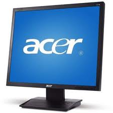 ACER V173BB 17 INCH LCD MONITOR, V173BB New