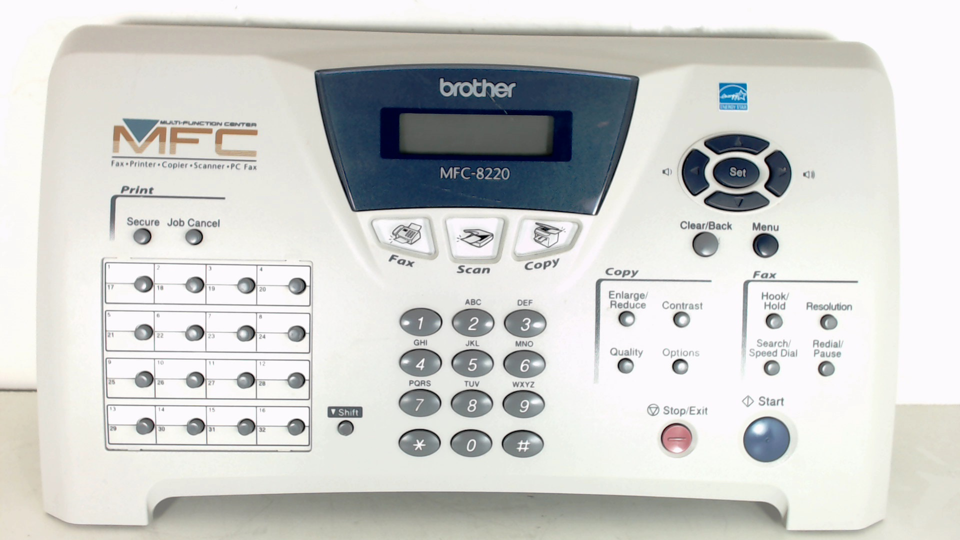 BROTHER LF2567001 OP PANEL, MFC8220 New