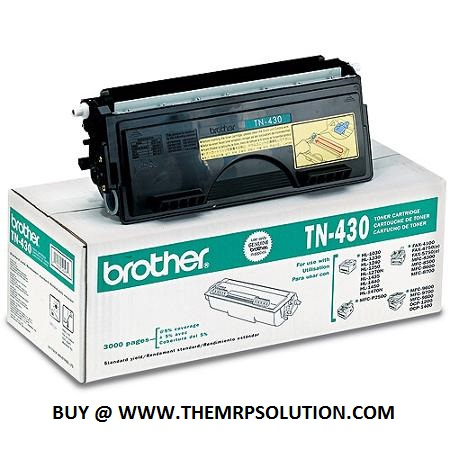 BROTHER TN-430 TONER, BLACK, 3K, 1440 New