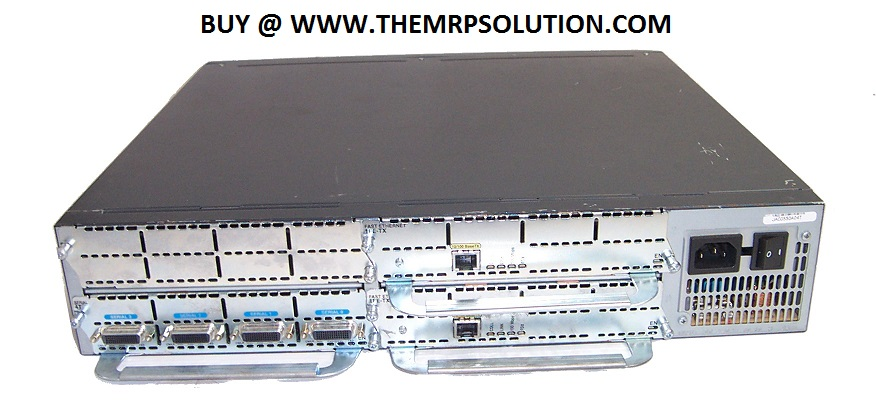 MODULAR ACCESS ROUTER, 3640 NEW by the MRP Solution