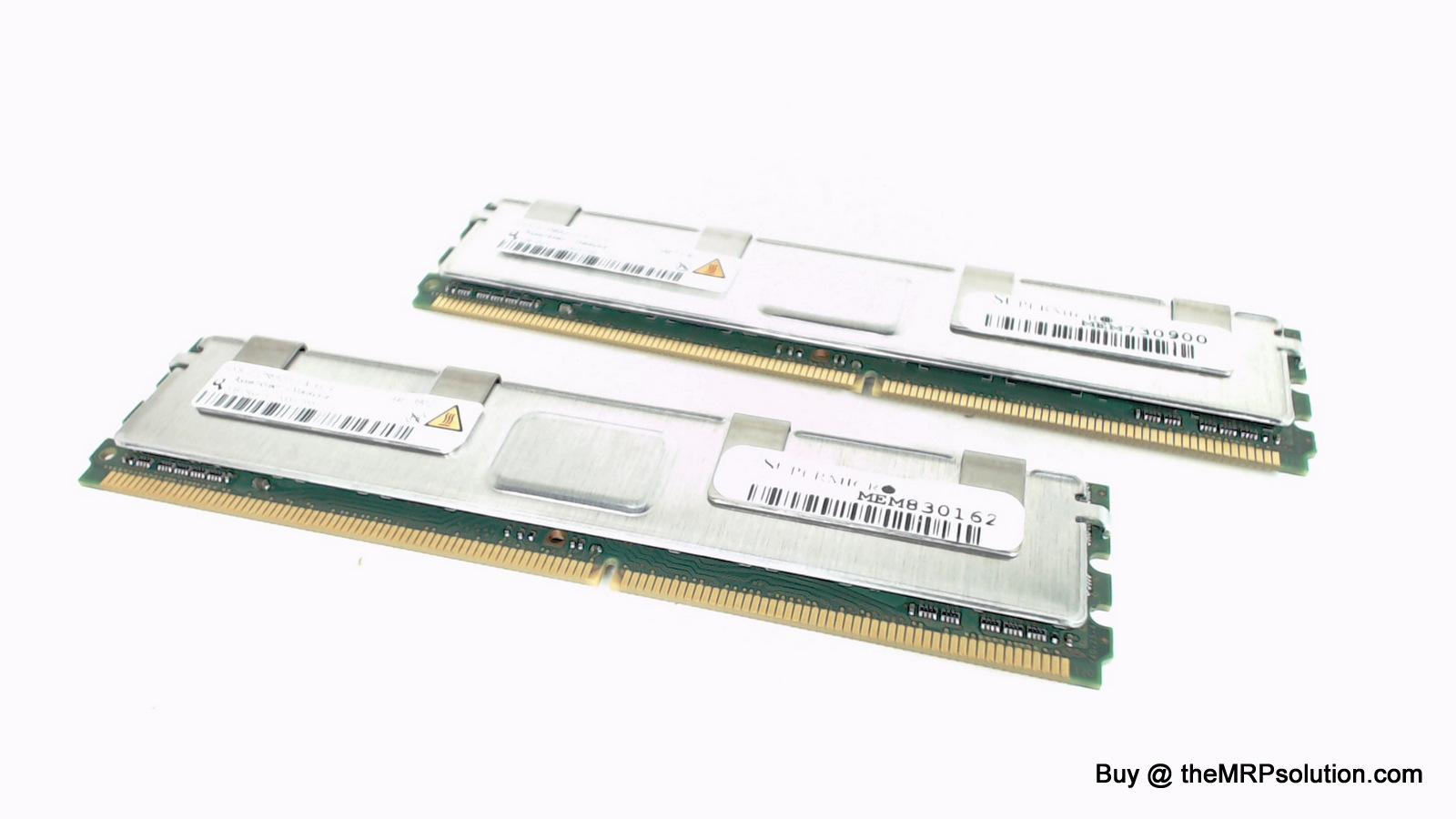 DELL NP551 2GB, 2RX4, PC2-5300F-555-11-EO Refurbished