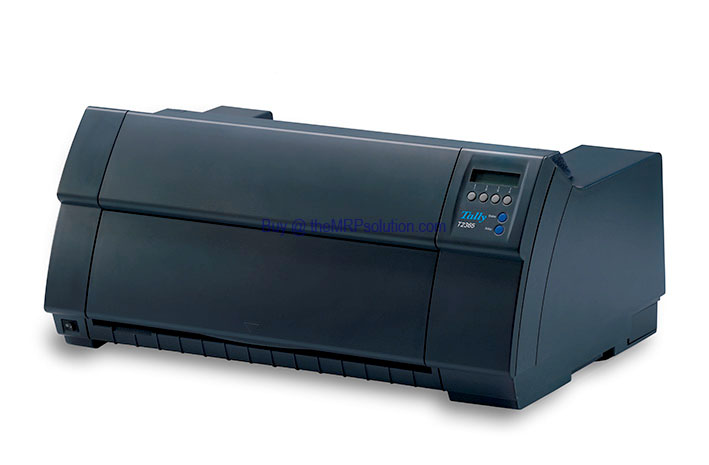 DASCOM 918105 PRINTER, PAR/ETH, 2 TRACTOR,2365-2T Refurbished