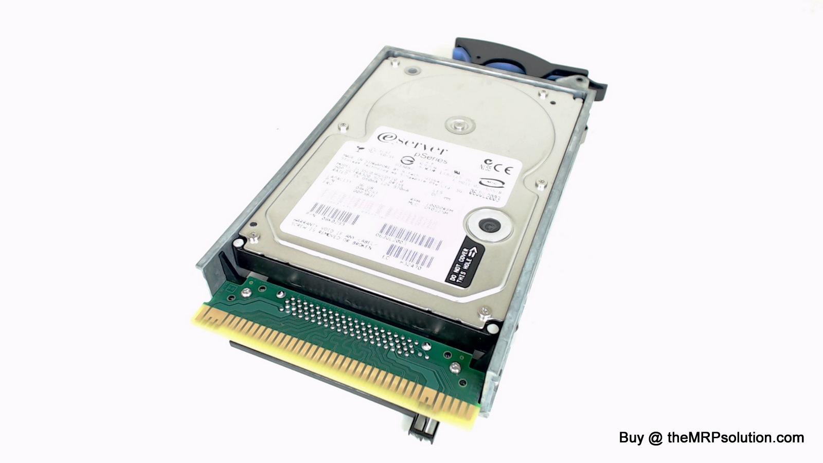 IBM 08K0293 36GB, 10K, SCSI HDA New