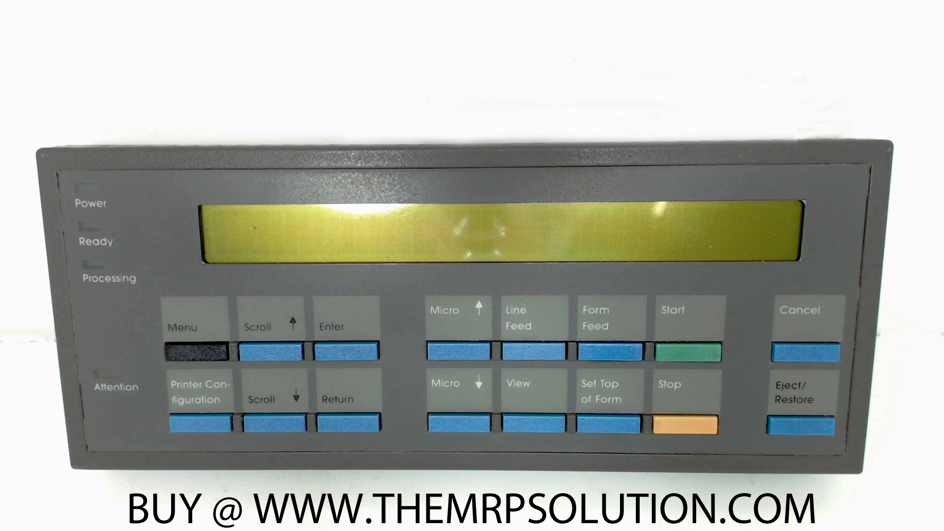 IBM 10R3929 OP PANEL, CABINET, 6400 New