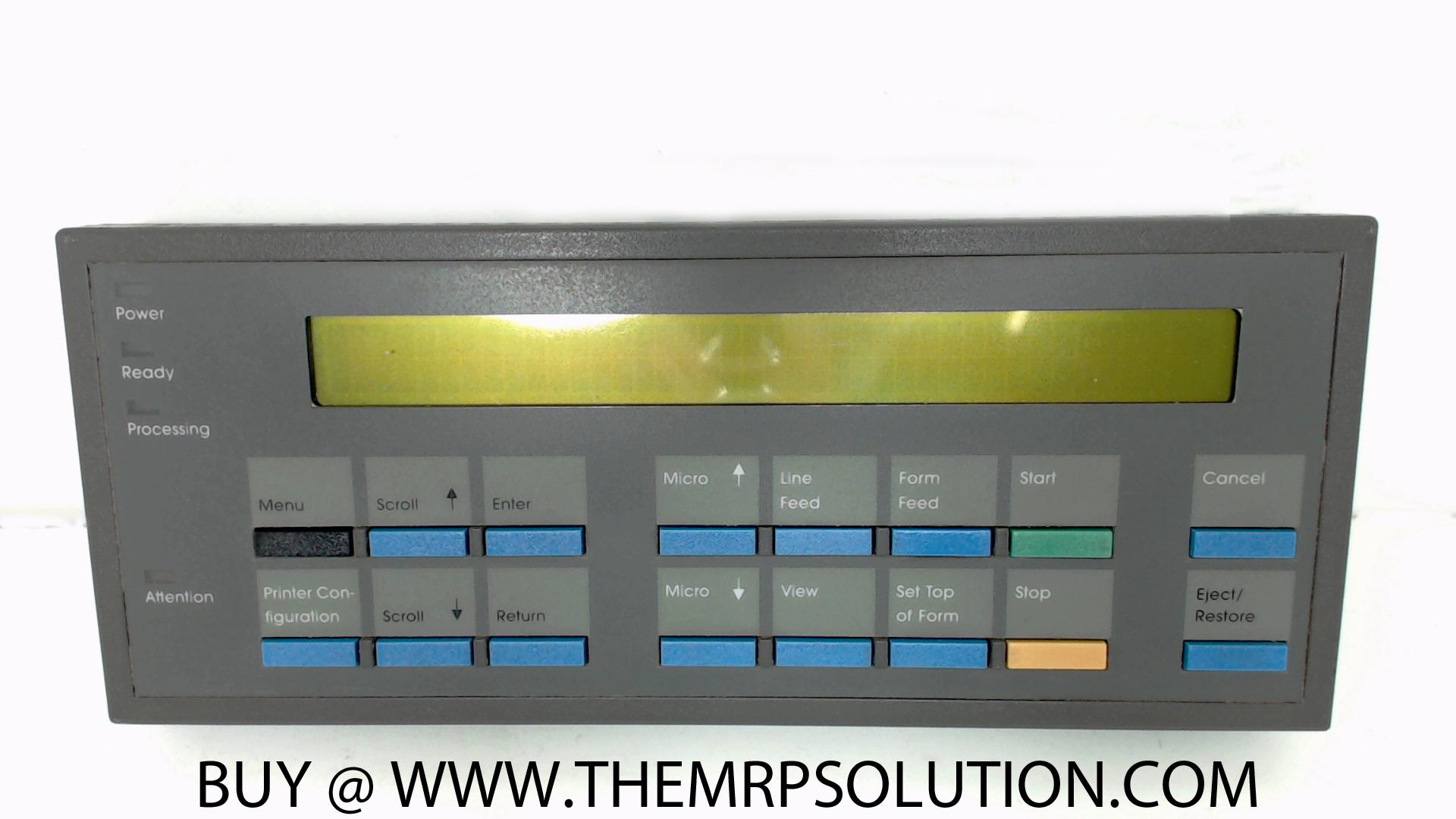 IBM 14H5299 OP PANEL, CABINET, 6400 New