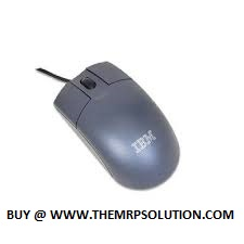 MOUSE, USB, OPTIC, 3-BUTTON, BLK