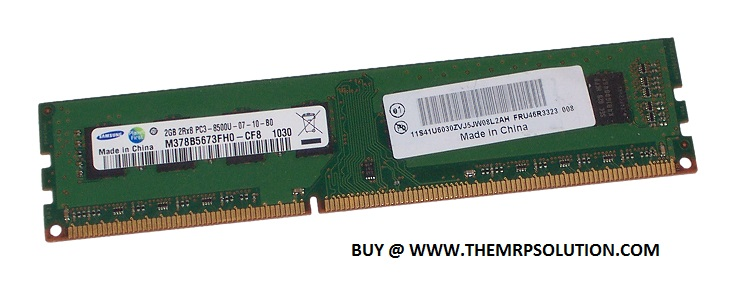 IBM 46R3323 2GB DDR3 DIMM MODULE New