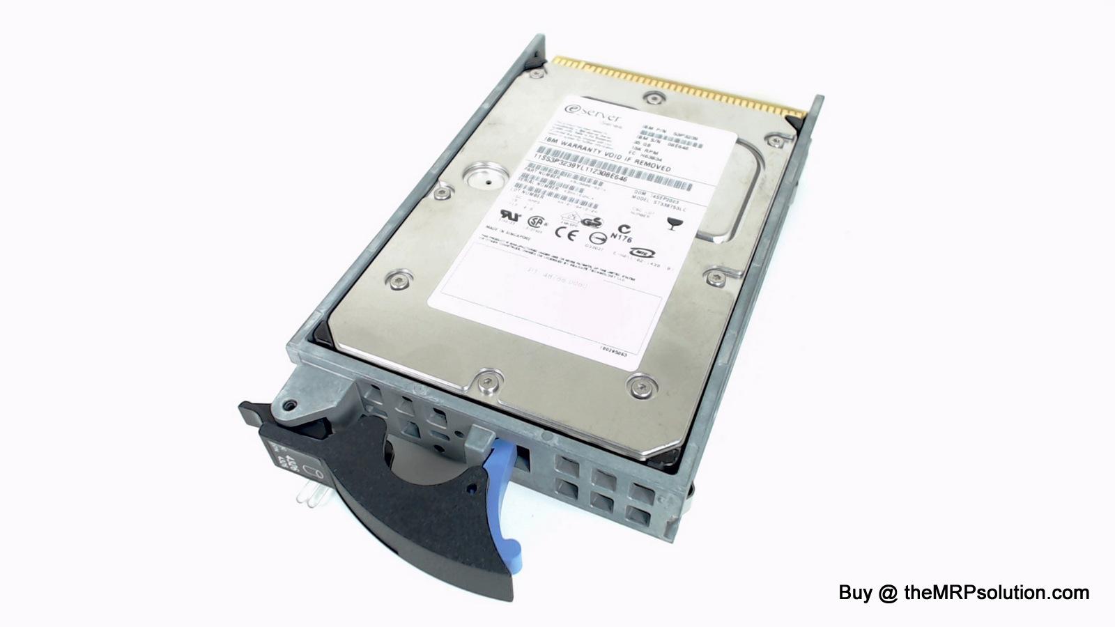 IBM 53P3239 DRIVE, 36GB, 15K, 80 PIN New