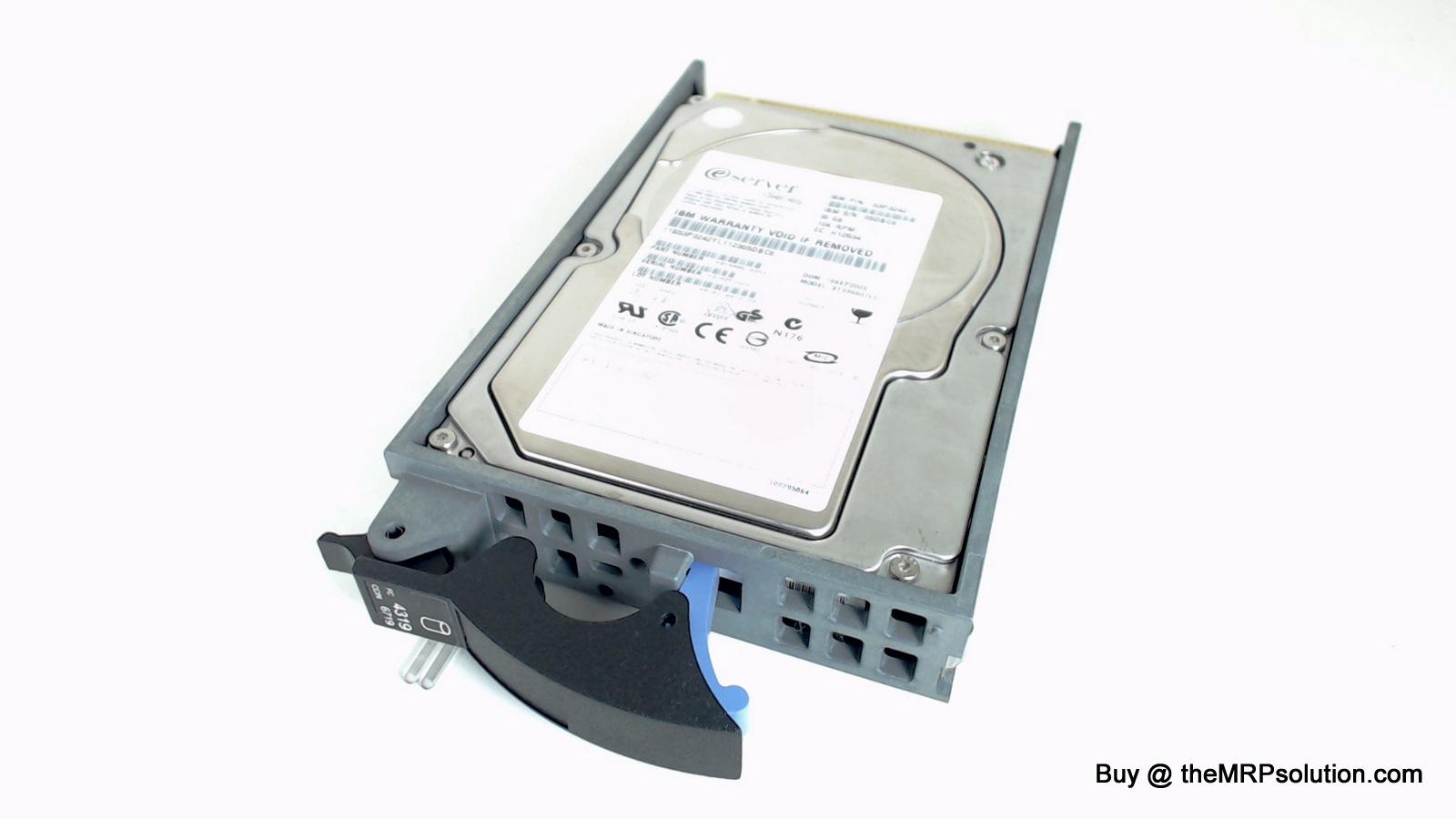 IBM 53P3242 36GB, 10K DRIVE Refurbished