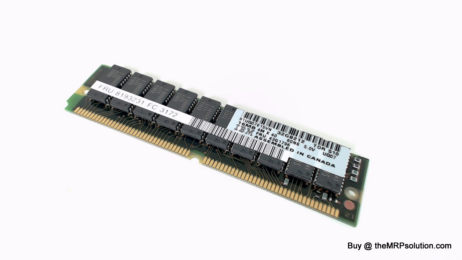 16MB MEMORY SIMM NEW by the MRP Solution