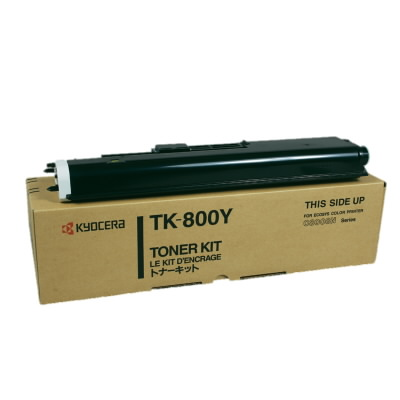 TK-800Y, TONER: YELLOW (10K @ 5%) NEW by the MRP Solution
