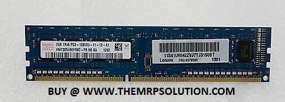 2GB, PC3-12800 DDR3 MEMORY