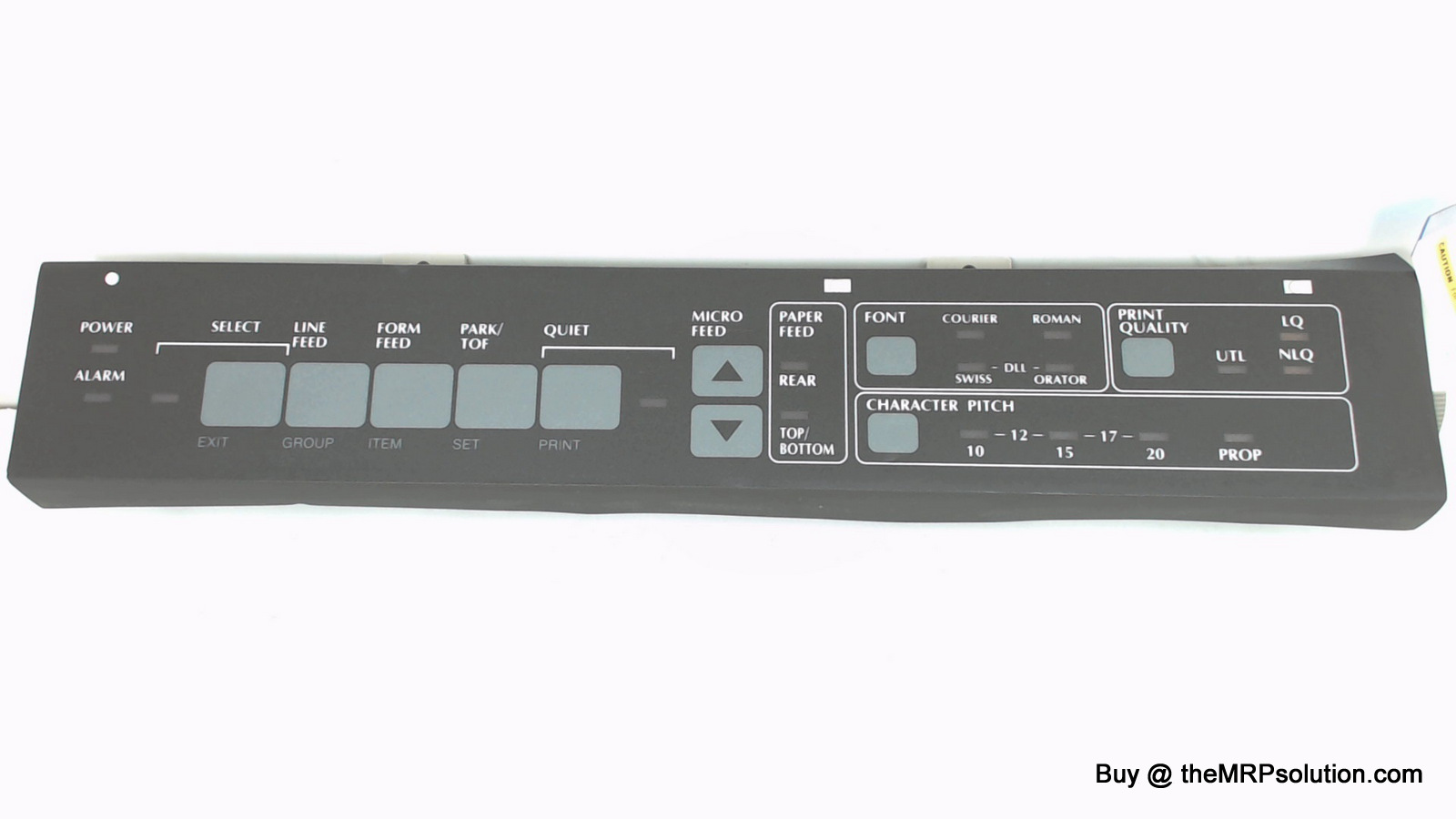 OKIDATA 50100001 OPERATOR PANEL, 395 New