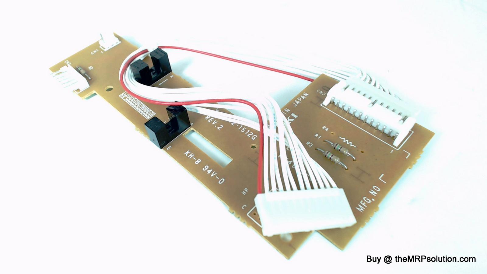 OKIDATA 55061501 PCB, LPR W/SENSOR, 3410 Refurbished