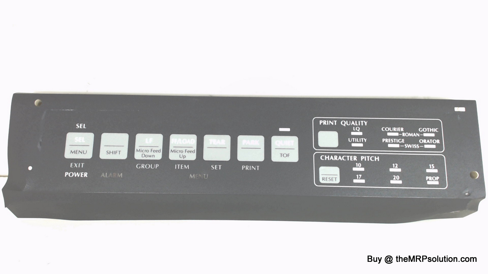 OKIDATA 55937501 OPERATOR PANEL, ML591 New