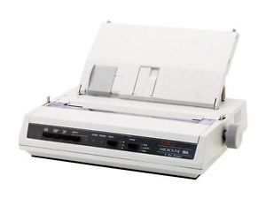 OKIDATA 62422301 PRINTER, PARALLEL, USB, ML186 Refurbished