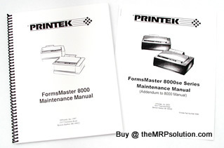 800X/SE MAINTENANCE MANUAL NEW by the MRP Solution