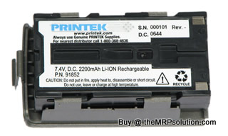PRINTEK 91861 RT43 BATTERY, 5 PACK Refurbished