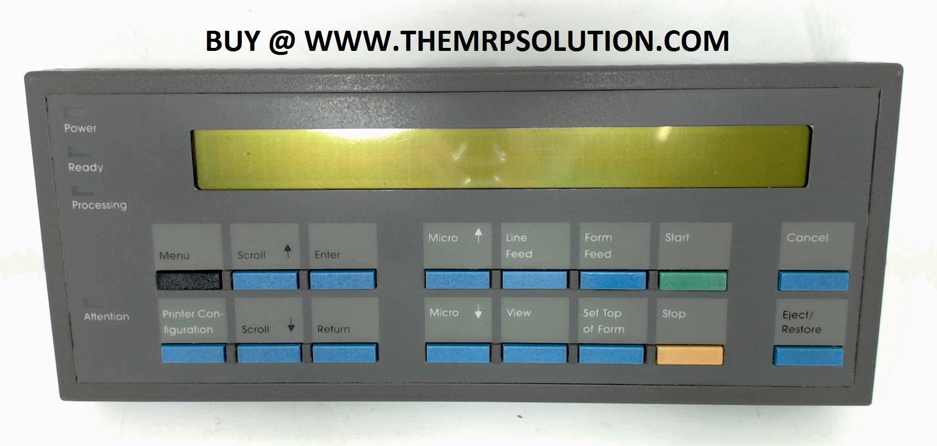 PRINTRONIX 153560-902 OP PANEL, PEDESTAL, 6400 New