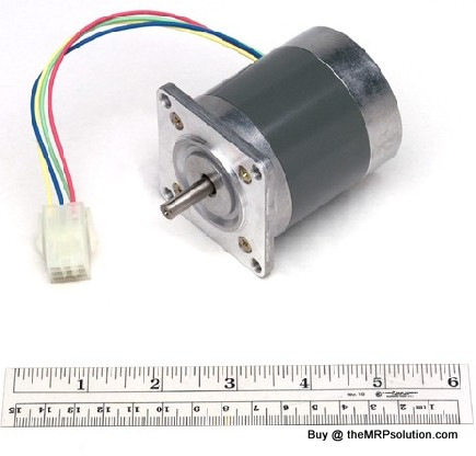PRINTRONIX 178535-001 FORMS MOTOR, W/PULLEY,LG+ New
