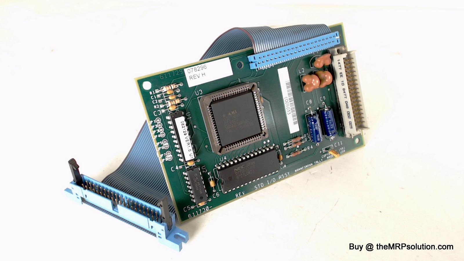 TALLYGEN 078399 PIGGYBACK I/O MODULE, S/P, T6140 New