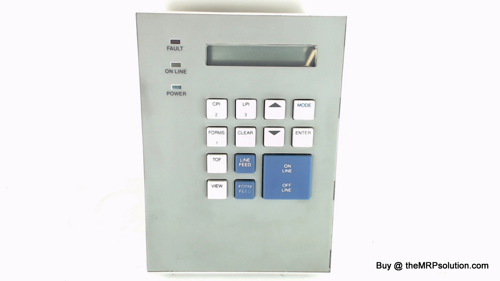 TALLYGEN 084852 CONTROL PANEL, T691/T6000 Refurbished