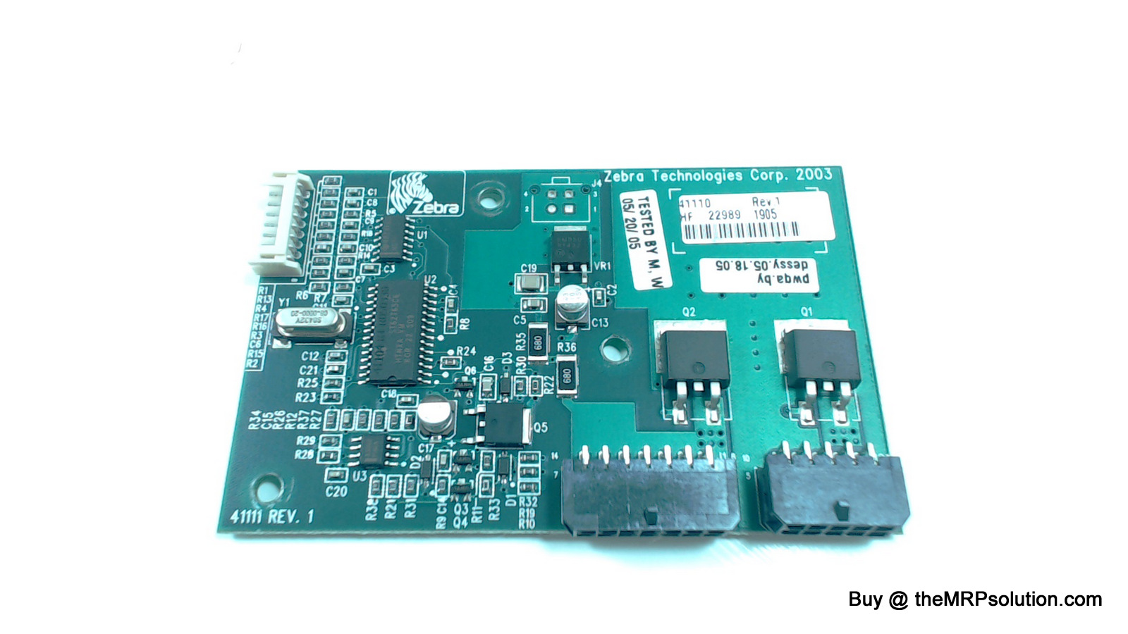 ZEBRA 4111-099 POWER ADAPTER BOARD, 110XI III Refurbished