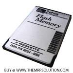 ZEBRA 46594-0008 FLASH MEMORY CARD, 8MB Refurbished