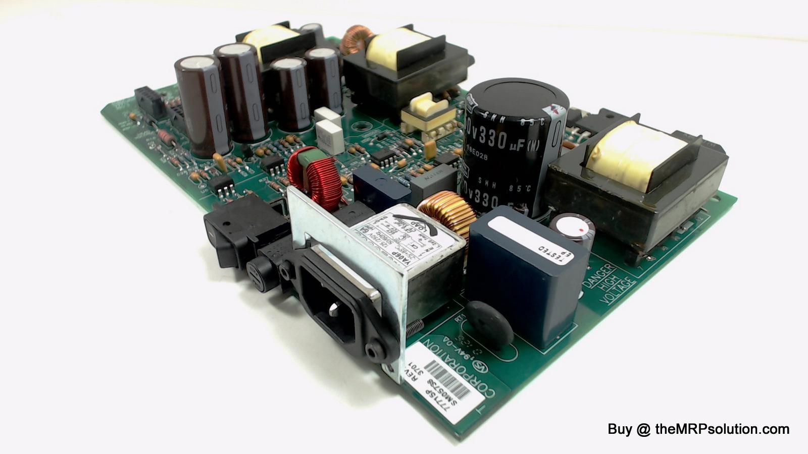 ZEBRA 77715M PWB, POWER SUPPLY, Z4M/Z4000/Z6000 Refurbished