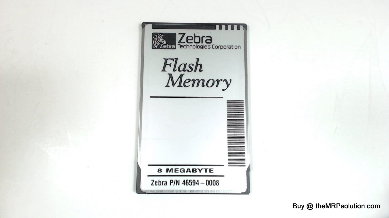 ZEBRA 46594 PWB, 2MB FLASH MEMORY Refurbished